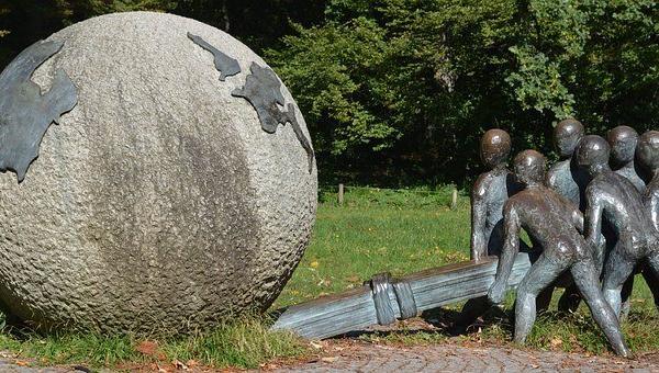 statue parc de la tête d'or Lyon